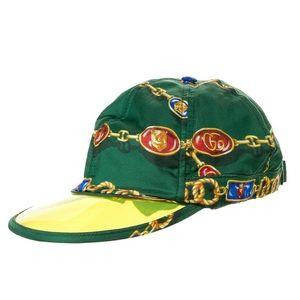 Gucci Men's Silk chain-link hat